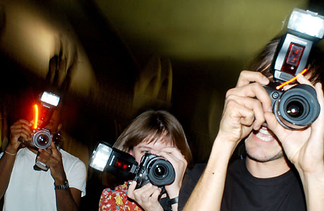 Paparazzi - Cameras watching every moment you step out that door