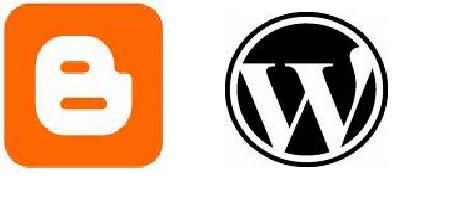 icons - blogger or wordpress