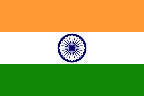 Flag of India - Flag of the country of India.