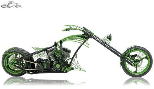 Junior's OCC Dream Bike - A pic of Paul Jr. From OCC's custom bike