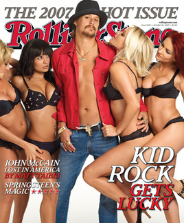 Rolling Stone - The final shot for the Rolling Stone cover.