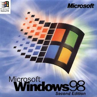 Windows 98 SE - This is an image of Microsoft Windows 98 Second Edition
