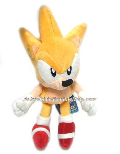 super sonic plush - Th... Super Sonic And Super Shadow And Super Silver Toys