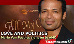 Erica's new boyfriend - Mario Van Peebles will play Erica's new boyfriend starting at the end of January.