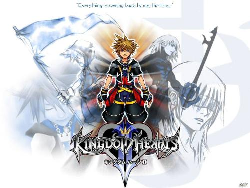 Kingdom Hearts 2 - My favorite game Kingdom Hearts 2