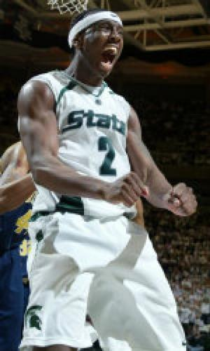 raymar morgan - Raymar Morgan. Michigan State Star Forward