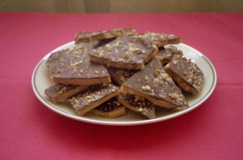 English Toffee - My homemade English Toffee that I am going to try selling.