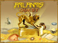 Atlantis Quest Game - It is a picture of the beginning of the game.