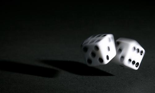 A roll of the dice - dg giaz z zgjpo js]pho jsj]