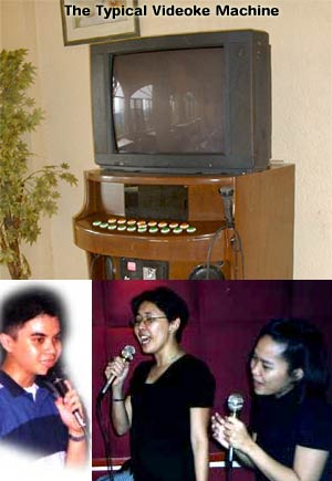 karaoke and videoke - i like to sing at times using videoke