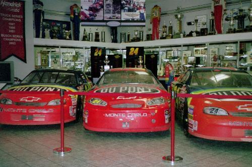 Jeff Gordon Museum - Jeff Gordon Museum on the Hendricks Motor sport campus in Charlotte North Carolina.