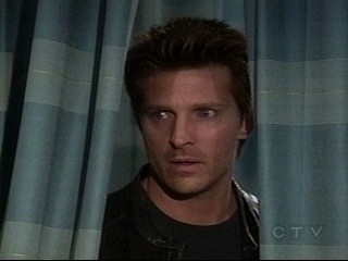 screencap of GH's Steve Burton (Jaspn) - Jason Morgan of General Hospital after the bomb threat in the Emergency Room