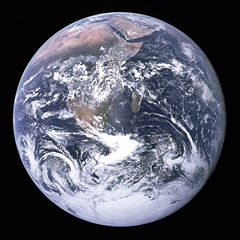The Earth - The Earth as seen from Apollo 17.