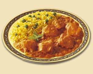 Chicken Tikka Masala - The very famous indian dish Chicken Tikka Masala, chunks of chicken with yogurt and spices