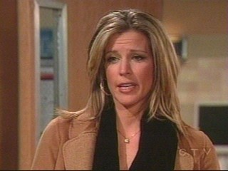GH's Laura Wright as Carly Corinthos Jax - Screencap I took on Tuesday January 22 of ABC and General Hospital's Laura Wright as Carly Corinthos Jax