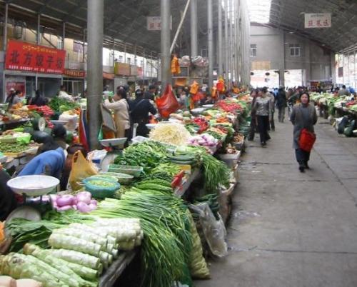 Vegetable market - Vegetable market outside US