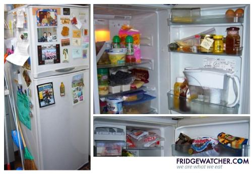 This Fridge is from Kamakura, Japan. - Fridgewatcher.com is a project where people open their fridges to others. Cause every fridge tells a story. We want to know yours. Send us a picture of your refridgerator.