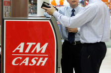 Thieves on ATM - another modus on thieves at atm centers