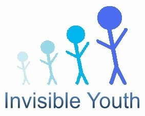 Jarrett Morgan's Logo For Invisible Youth Network - This logo was designed for IYN by a wonderful, young man named Jarrett Morgan. I really like how it shows invisible youth coming out of the shadows to gain visibility in society, giving them an empowering feeling of vision.