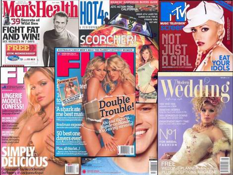 Magazines - It is a sheer habit.
