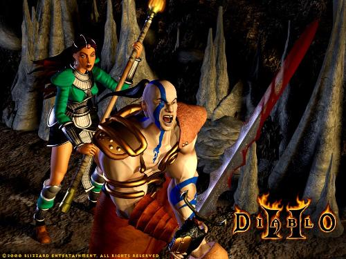 diablo 2 wallpapers. Diablo 2 Characters