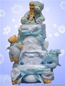 Luxury Nappie Cake - A four tier Nappie Cake... wow!