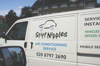 stiff - air conditioning van