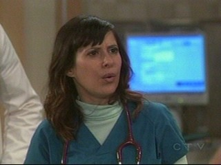 Screencap of Robin - Screencap of ABC and General Hospital's Dr. Robin Scorpio played by Kimberly McCullogh taken by me on Tuesday February 5, 2008