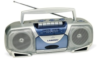 radio - radio casette player