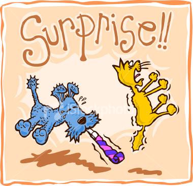 Surprise - I hate surprises