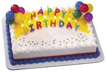 Birthday Cake - Yummy!