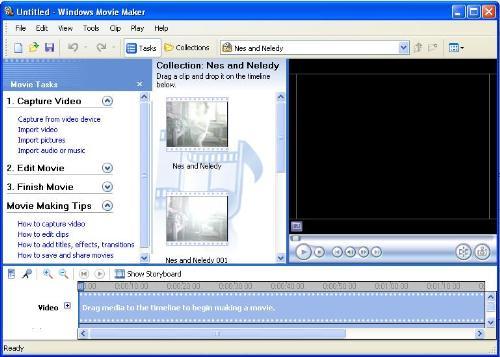 Windows Movie Maker - Making a movie using windows media maker