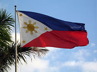 Philippine Flag - national flag of the Philippines