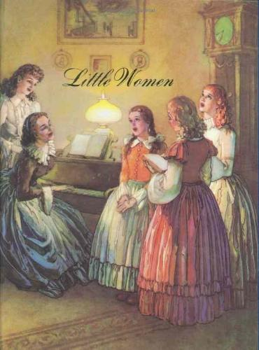 Little Women Book Cover - The cover of Little Women