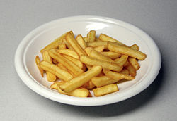 Checkers fries are best. - Who loves them like I do?