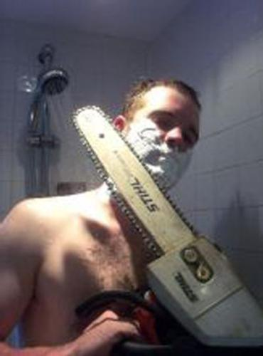 Shaving - The daily torture.
