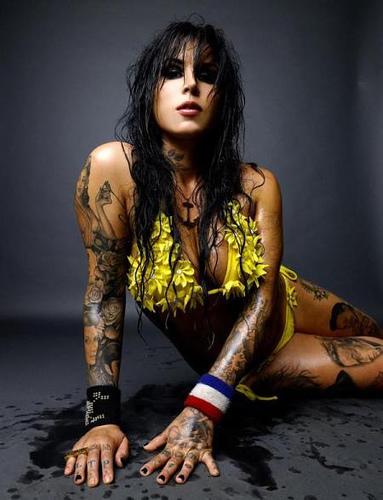 Kate Von D of LA Ink