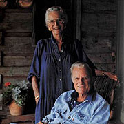 Billy & Ruth Graham - One of my favorite photos of this famous couple - always at her husband's side but very much a women of her own standing Ruth Bell Graham was an inspiration to many around the world