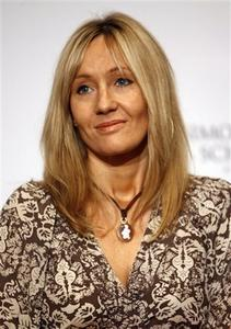 J.K.Rowling - Author of Harry Potter series of books, J.K. Rowling.