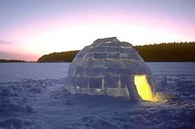 Igloo - This is a picture of an igloo.