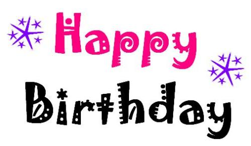 Happy Birthday - Happy Birthday - Time to celebrate!