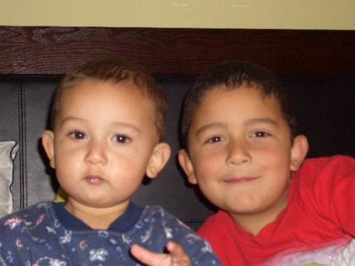 Mateo - nephew - Mateo and lil bro