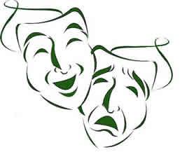 Theatre Mask - Picture of classic theatre masks