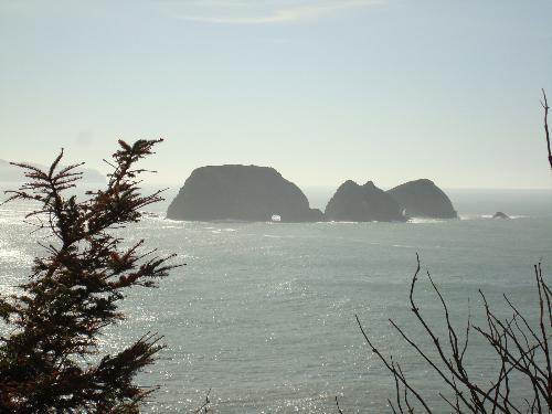 Cape Meares Light House - Located 10 miles west of Tilamook, Oregon