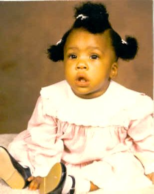 They Don't Stay This Way - This is a picture of Keauna when she was a baby. She is nineteen now.