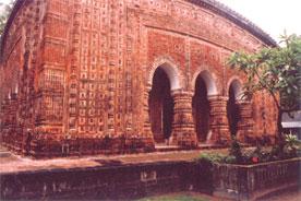 Rajshahi-Kantajees Temple - Rajshahi Kantajees Temple