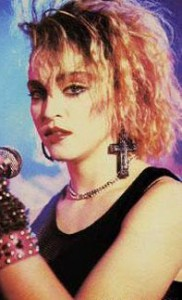 Madonna, circa 1982 - This is a photo of Madonna, circa 1982, who is my biggest 80's icon.