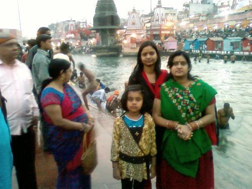 Har Ki Pauri - Mother Ganga at Har Ki Pauri in Haridwar.