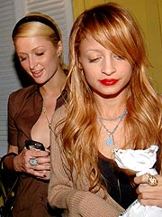 Paris and Nicole - Paris Hilton and Nicole Richie! The most famous on again, off again (currently on again) friends out there. Both victims on the paporazzi and looked up to as fashion icons.