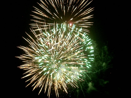 Happy fireworks - Fireworks in the night